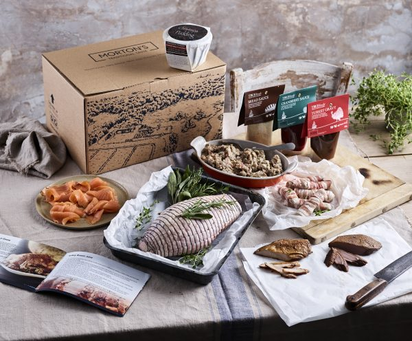 Delivering your order with care. Morton's Family Farm Meat Boxes